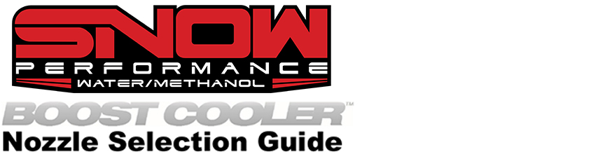 Nozzle Selection Guide